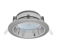 Встраиваемый потолочныйсветильник-спот Ecola GX53 H2R.C рефлектором. Цвет - Хром. Solnechnogorsk