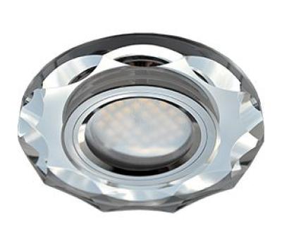 Ecola MR16 DL1653 GU5.3 Glass Стекло Круг с вогнутыми гранями Хром / Хром 25x90 Solnechnogorsk