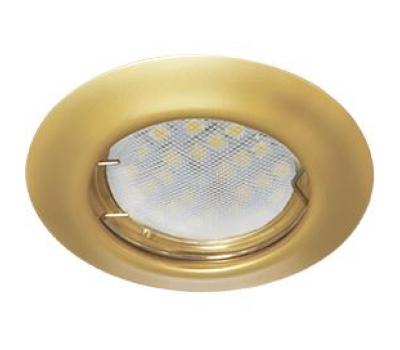 Ecola Light MR16 DL92 GU5.3 Светильник встр. выпуклый Перламутровое золото 30x80 Solnechnogorsk