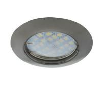 Светильник Ecola Light MR16 DL92 GU5.3 встр. выпуклый Черный Хром 30x80 Solnechnogorsk
