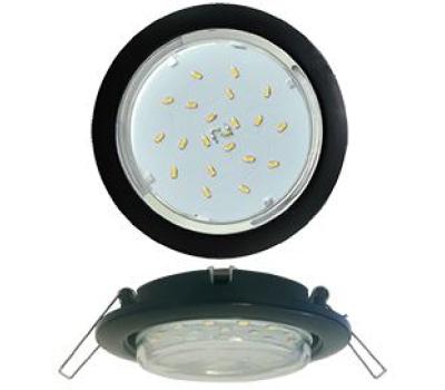 Ecola GX53 5355 Встраиваемый Легкий Черный (светильник) 25x106 Solnechnogorsk