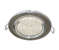 Ecola GX53 H4 Downlight without reflector_chrome (светильник) 38x106 - 10 pack Solnechnogorsk