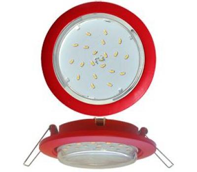 Ecola GX53 5355 Встраиваемый Легкий Красный (светильник) 25x106 Solnechnogorsk