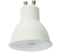 Ecola Reflector GU10  LED  8,0W  220V 4200K прозрачное стекло (композит) 57x50 Solnechnogorsk