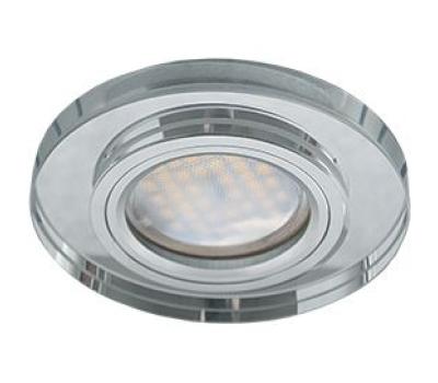 Ecola MR16 DL1650 GU5.3 Glass Стекло Круг Хром / Хром 25x95 Solnechnogorsk