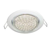 Ecola GX53 H4 светильник встраив. без рефл. white 38х106 - 2 pack Solnechnogorsk