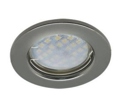 Светильник Ecola Light MR16 DL90 GU5.3 встр. плоский Черный Хром 30x80 Solnechnogorsk