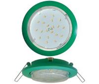 Ecola GX53 5355 Встраиваемый Легкий Зеленый (светильник) 25x106 Solnechnogorsk