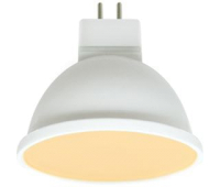 Ecola MR16   LED Premium  8,0W  220V GU5.3 золотистая матовое стекло (композит) 48x50 Solnechnogorsk