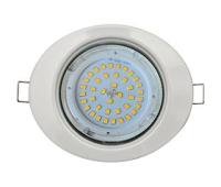 Ecola GX53 FT3238 светильник встр. без рефлектора Эллипс белый 41x126x106 Solnechnogorsk