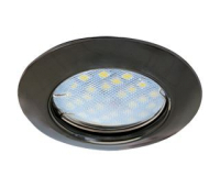 Светильник Ecola Light MR16 DL92 встраиваемый выпуклый  Черный Хром 30x80 - 2 pack Solnechnogorsk
