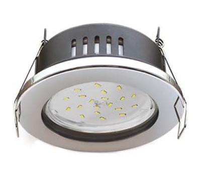 Ecola GX53 H9 защищенный IP65 светильник встраив.  без рефлектора  хром  98*55 Solnechnogorsk