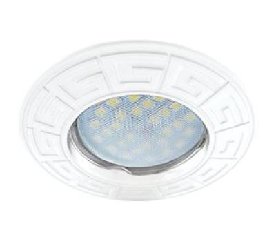 Ecola MR16 DL110А GU5.3 Светильник встр. литой Антик Белый 24x86 Solnechnogorsk