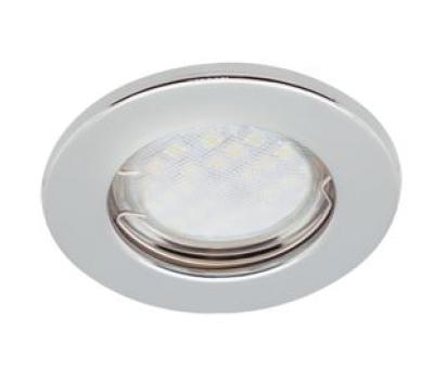Светильник Ecola Light MR16 DL90 GU5.3 встр. плоский Хром 30x80 Solnechnogorsk