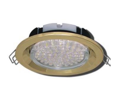 Ecola GX53 FT3225 светильник встраиваемый глубокий лёгкий золото 27x109 Solnechnogorsk