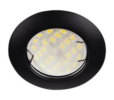 Ecola Light MR16 DL92 GU5.3 Светильник встр. выпуклый Черный матовый 30x80 (кd74) Solnechnogorsk