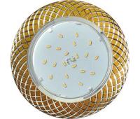 Ecola GX53 H4 DL5381  светильник встраив. без рефл. Сетка матовое Золото/Алюм 20x110 (к+) Solnechnogorsk