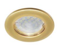 Светильник Ecola Light MR16 DL90 встраиваемый плоский Перламутровое золото 30x80 - 2 pack Solnechnogorsk