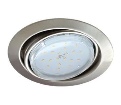 Ecola GX53 FT9073 светильник встраиваемый поворотный сатин-хром 40x120 Solnechnogorsk