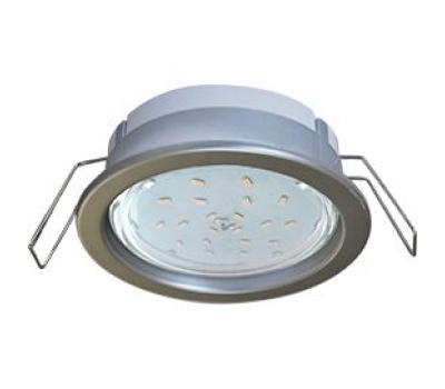 Ecola GX53 PD Светильник Встраиваемый глубокий легкий Серебро31x95 Solnechnogorsk
