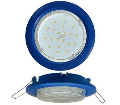 Ecola GX53 5355 Встраиваемый Легкий Синий (светильник) 25x106 Solnechnogorsk
