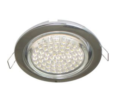 Ecola GX53 H4 светильник встраив. без рефл. chrome  38х106 - 2 pack Solnechnogorsk