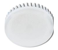 Лампа Ecola GX53 LED Premium 8.5W Tablet 220V 4200K матовое стекло (ребристый алюм. радиатор) 27x75 Solnechnogorsk
