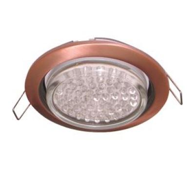 Ecola GX53 H4 светильник встраив. без рефл. чернёная медь 38х106 - 2 pack Solnechnogorsk