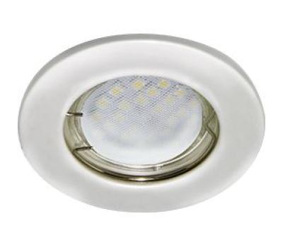 Светильник Ecola Light MR16 DL90 встраиваемый плоский Перламутровое серебро 30x80 - 2 pack Solnechnogorsk