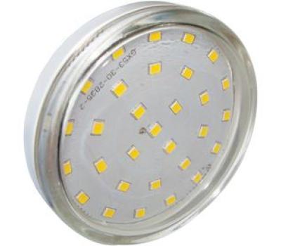 Ecola Light GX53 LED  6.0W Tablet 220V 2800K 27x75 прозрачное стекло 30000h Solnechnogorsk