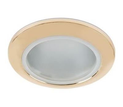 Ecola MR16 DL80 GU5.3 светильник встр. влагозащищенный IP65 золото 32x93 Solnechnogorsk