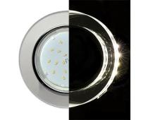 Ecola GX53 H4 LD5310 Glass Стекло Круг с подсветкой  хром - хром (зеркальный) 38x126 (к+) Solnechnogorsk