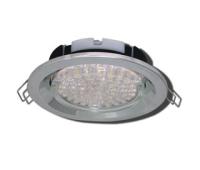 Ecola GX53 FT3225 светильник встраиваемый глубокий лёгкий хром 27x109 Solnechnogorsk