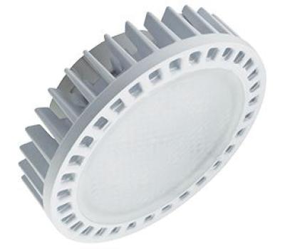 Ecola GX53   LED Premium 15,0W Tablet 220V 2800K матовое стекло (фронтальный алюм. радиатор) 27x75 Solnechnogorsk