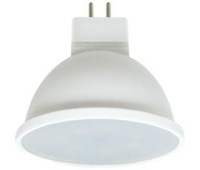 Ecola Light MR16   LED  7,0W  220V GU5.3 2800K матовое стекло (композит) 48x50 (1 из ч/б уп. по 4) Solnechnogorsk