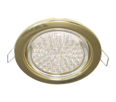 Ecola GX53 H4 светильник встраив. без рефл. gold  38х106 - 2 pack Solnechnogorsk