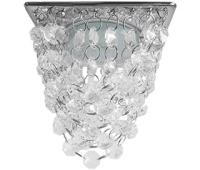 "Ecola GX53 H4 5358 Glass Квадрат ""Хрустальная гроздь"" Прозрачный / Хром 150x110x110 (к+) Solnechnogorsk"