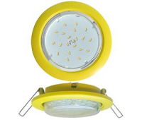 Ecola GX53 5355 Встраиваемый Легкий Желтый (светильник) 25x106 Solnechnogorsk
