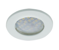 Светильник Ecola Light MR16 DL90 GU5.3 встр. плоский Белый 30x80 Solnechnogorsk