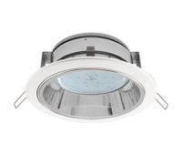 Встраиваемый потолочныйсветильник-спот Экола GX53 H2R.С рефлектором. Цвет - Белый. Solnechnogorsk