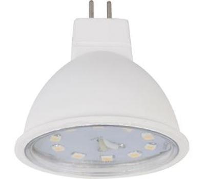 Ecola Light MR16   LED  5,0W 220V GU5.3 4200K прозрачное стекло (композит) 48x50 Solnechnogorsk