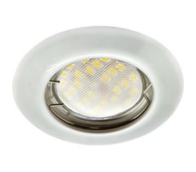 Ecola Light MR16 DL92 GU5.3 Светильник встр. выпуклый Перламутровое серебро 30x80 Solnechnogorsk