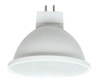 Ecola MR16   LED  5,4W 220V GU5.3  6000K матовое стекло (композит) 52x50 Solnechnogorsk