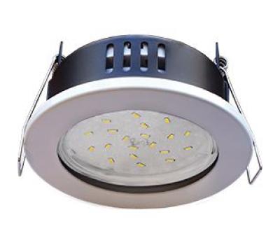 Ecola GX53 H9 защищенный IP65 светильник встраив.  без рефлектора белый 98*55 Solnechnogorsk