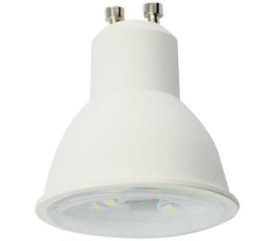 Ecola Reflector GU10  LED  8,0W  220V 2800K прозрачное стекло (композит) 57x50 Solnechnogorsk