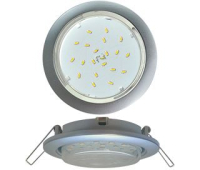 Ecola GX53 5355 Встраиваемый Легкий Серебро (светильник) 25x106 Solnechnogorsk