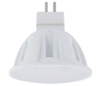 Лампа светодиодная Ecola Light MR16 LED 4,0W 220V GU5.3 2800K матовое стекло 46x50 Solnechnogorsk