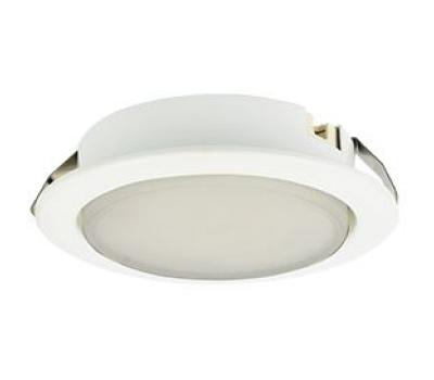 Ecola GX53 DL Светильник Встраиваемый (для твер. пов. и мебели) Белый 28х93 Solnechnogorsk