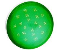 Ecola GX53   LED color  8,0W Tablet 220V Green Зеленый матовое стекло (композит) 28x74 Solnechnogorsk