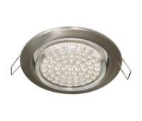 Ecola GX53 H4 светильник встраив. без рефл. satin chrome  38х106 - 2 pack Solnechnogorsk